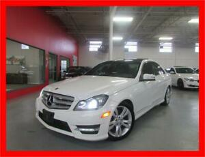 2012 MERCEDES-BENZ C300 4MATIC *NAVI,BACKUP CAM,PANO ROOF!!!*