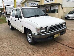 1998 Toyota Hilux RZN149R White Manual Utility Port Macquarie Port Macquarie City Preview