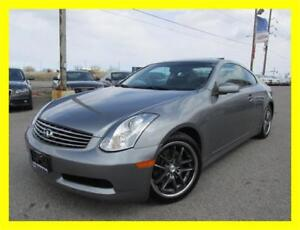 2006 INFINITI G35 COUPE *6SPD,LEATHER,SUNROOF,LOADED!!!*