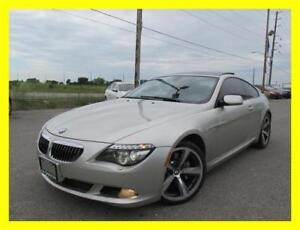 2008 BMW 650I COUPE *HEADS UP DISPLAY,NAVIGATION,LEATHER,LOADED*