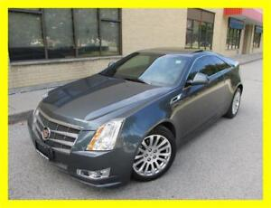 2011 CADILLAC CTS COUPE *NAVIGATION,LEATHER,SUNROOF,NO ACCIDENTS