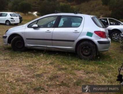 WRECKING 2003 PEUGEOT 307 MANUAL 2.0L FREE DELIVERY D020