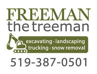 Freeman the Treeman - Excavating, Landscaping, & Lot Clearing