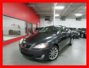 2007 LEXUS IS250 AWD *NAVI,BACKUP CAM,LEATHER,SUNROOF,LOADED!!!*
