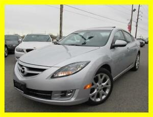 2010 MAZDA MAZDA6 GT *6 SPEED,LEATHER,SUNROOF,PUSH TO START!!*
