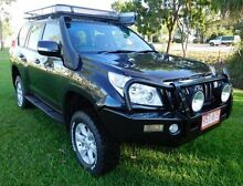 2009 Toyota Landcruiser Prado KDJ150R GXL Black 5 Speed Sports Automatic Wagon Berrimah Darwin City Preview