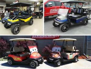 LARGEST GOLF CART DEALERSHIP IN CANADA   4 LOCATIONS IN ONTARIO!