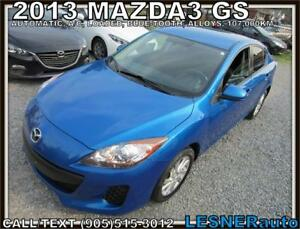 2013 MAZDA3 GS -AUTO & LOADED- -60months-$127-$3000down-