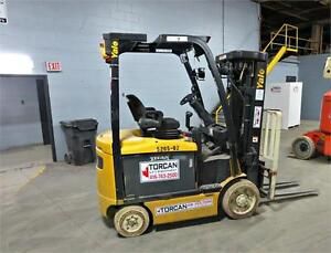 2011 // Yale A968N04526J // 5,000lbs Electric Forklift