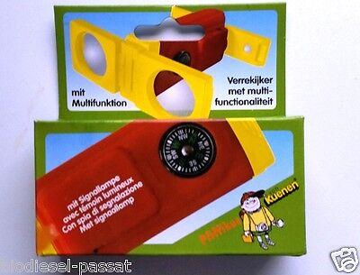 Expeditions-Fernglas mit Kompass, roter Signallampe, Spiegel und Schlüsselring*
