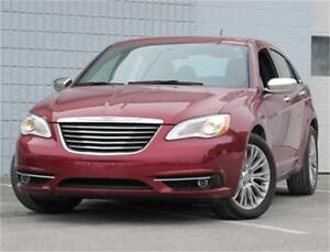2012 Chrysler 200 Sunroof|Leather|Remote Start|V6|Heated Seats