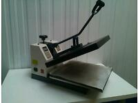 T-shirt Heat Print Press Machine 1800W for applying graphic designs and prints, vinyl onto T-shirts