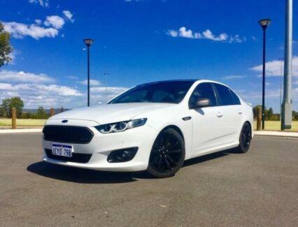 2016 Ford Falcon FG X XR6 Winter White 6 Speed Auto Seq Sportshift Sedan Kenwick Gosnells Area Preview