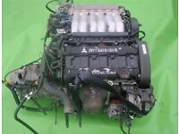 Mitsubishi 3000GT 3000 GT. Many Parts: Engine, Bumpers, Gearbox, Head, Front, Back, Differential