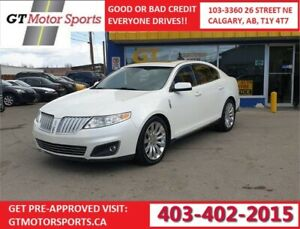 2011 Lincoln MKS AWD | $0 DOWN - EVERYONE APPROVED!