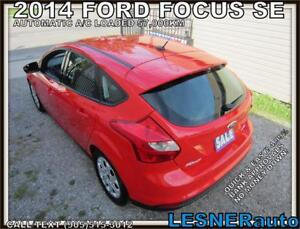 2014 FORD FOCUS SE -AUTO A/C LOADED- 57,KM