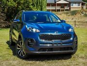 2017 Kia Sportage QL MY18 Si 2WD Premium Mercury Blue 6 Speed Sports Automatic Wagon Mount Barker Mount Barker Area Preview