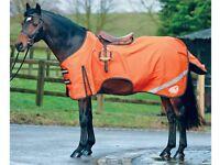 Horse all weather riding sheet high viz