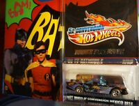 HOT WHEELS MEXICO CUSTOM BATMOBILE TV'66