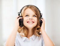 KIDS MUSIC CLASSES - ages 2 to 7 - for January classes!!