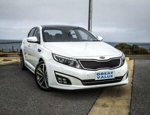 2015 Kia Optima TF MY15 Platinum White 6 Speed Sports Automatic Sedan Christies Beach Morphett Vale Area Preview