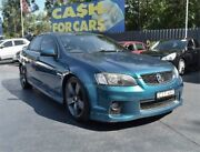 2012 Holden Commodore VE II MY12.5 SS Z Series Green Manual Sedan Campbelltown Campbelltown Area Preview