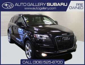 2011 Audi Q7 3.0T S LINE | LUXURIOUS SUV | 7 PASS SEATING | AWD
