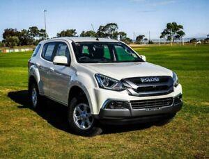 2019 Isuzu MU-X MY19 LS-M Rev-Tronic White 6 Speed Sports Automatic Wagon Christies Beach Morphett Vale Area Preview