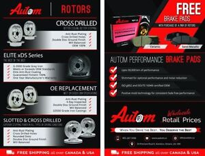 Unbeatable Prices for Break Pads and Rotors