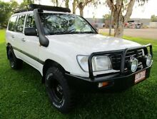 2002 Toyota Landcruiser HZJ105R Standard White 5 Speed Manual Wagon Berrimah Darwin City Preview