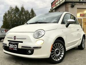 2013 FIAT 500 Lounge *No Accidents* Certified & Warranty!