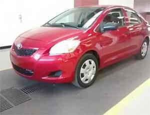 2012 Toyota Yaris, prix vente 7995$, 128$ par mois, 0$ comptant