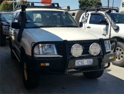 1999 Toyota Landcruiser HZJ105R (4x4) White 5 Speed Manual 4x4 Wagon Cannington Canning Area Preview