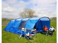 Litchfield 6 man tent with loads of extras
