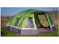 Hi Gear Voyager Elite 6 Family Tent with footprint