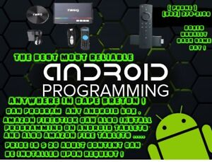 NEED YOUR ANDROID BOX PROGRAMMED OR REPROGRAMMED!