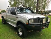 2004 Ford F250 RN XLT Silver 6 Speed Manual Cab Chassis Berrimah Darwin City Preview