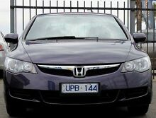 2007 Honda Civic 8th Gen MY07 VTi-L Misty Violet 5 Speed Automatic Sedan Heatherton Kingston Area Preview
