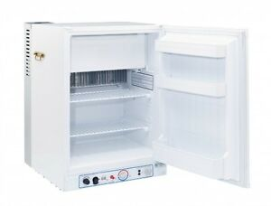 PORTABLE PROPANE FRIDGE W/FREEZER  3.4 CU/FT WHITE