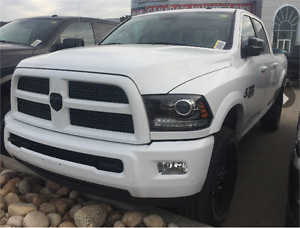2017 RAM 2500 LARAMIE DIESEL  GREAT SELECTION WITH 50 ON ORDER !
