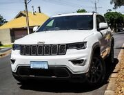 2016 Jeep Grand Cherokee WK MY16 75th Anniversary Bright White 8 Speed Sports Automatic Wagon Hendon Charles Sturt Area Preview