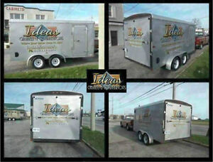 Trailer Wraps, Lettering, Vinyl Graphics, Signs, Decals Windsor Region Ontario image 3