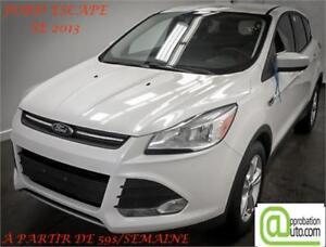 2013 Ford Escape SE, À PARTIR DE 59$/SEMAINE 100% APPROUVÉ !