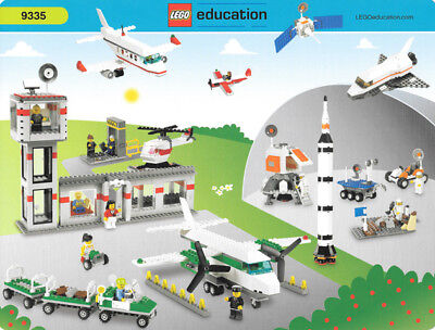 LEGO 9335 Space Airport Rocket Saturn Shuttle Education Set New Sealed  ()
