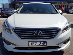 2016 Hyundai Sonata LF3 MY17 Active White 6 Speed Sports Automatic Sedan Meadow Heights Hume Area Preview