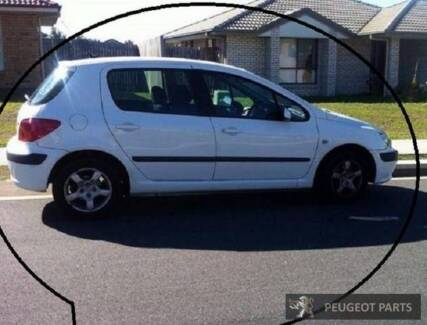WRECKING 2003 PEUGEOT 307 FREE DELIVERY D015
