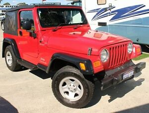 2005 Jeep Wrangler TJ Sport (4x4) 6 Speed Manual Softtop Cannington Canning Area Preview