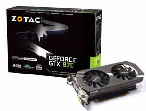 Zotac GTX 970 4GB video card - I have 2 if you want to SLI