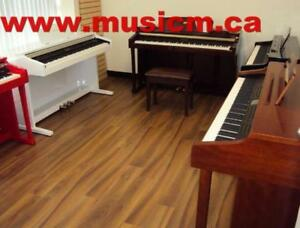 Digital Piano 88 Weighted Keys Keyboard 3 Pedal Stand Refurbished/Brand New With Warranty www.musicm.ca