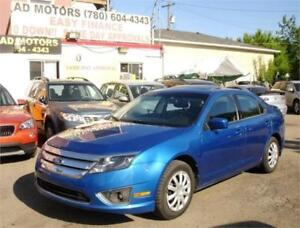 """NO ACCIDENT""  2012 FORD FUSION SEL LEATHER SROOF 100% FINANCING"